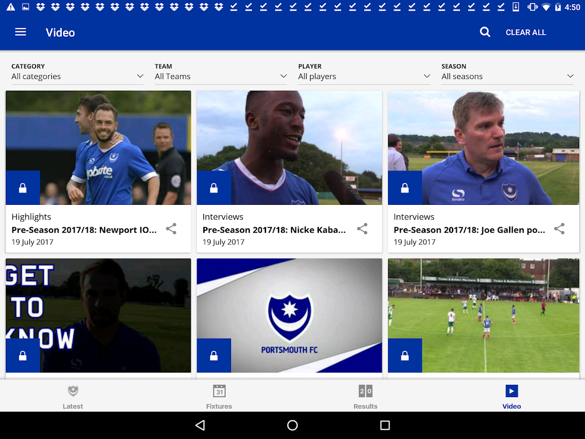 Portsmouth Official App- screenshot