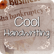 Free Download Cool Handwriting Font for FlipFont,Cool Fonts Text APK for Samsung