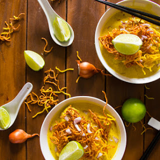 Quick and Easy Khao Soi Recipe - (Thai Noodle Soup with Chicken)