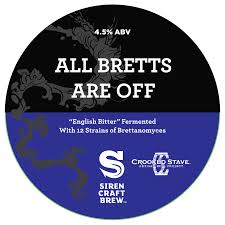 Logo of Siren/Crooked Stave All Bretts Are Off