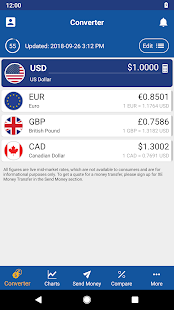 XE Currency Converter & Exchange Rate Calculator 1
