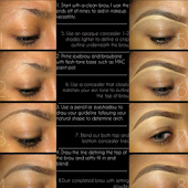 How To Make Up Eyebrow
