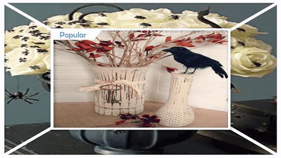 Creative DIY Halloween Vases - náhled