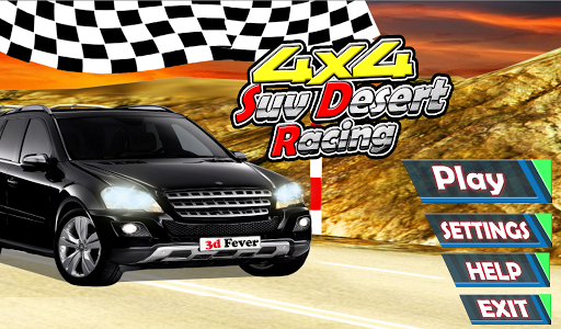 4x4 Suv Desert Racing