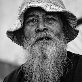 Alone by Caraka Pamungkas - People Portraits of Men