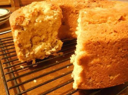 """Click Here for Recipe: Caramel Pecan Pound Cake """"Just made this cake..."""