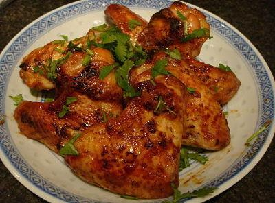 Sticky Sweet Chinese Chicken Wings Recipe