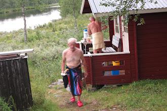 Photo: After Sauna