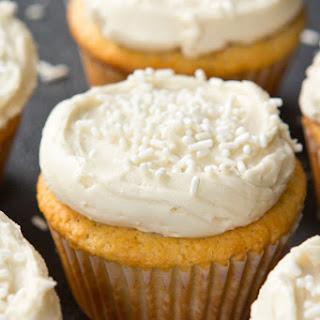 Paleo Vanilla Cupcakes.