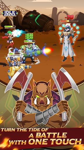 Idle Arena - Clicker Heroes Battle 5007 screenshots 2