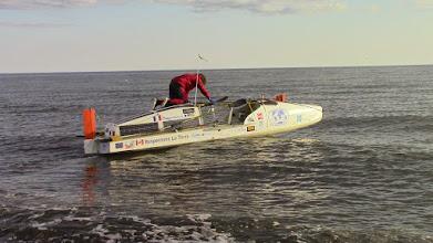 Photo: Charles Hedrich repart sur la Mer des Tchouktches