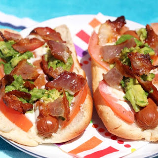 Bacon Avocado Hot Dog (California Dog!)