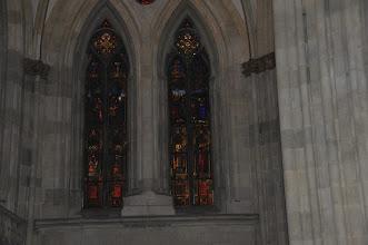 Photo: Katedrála sv. Petra (Dom St.Peter) - uvnitř dómu patří k nejpůsobivějším nádherně barevná skleněná okna nad kruchtou.