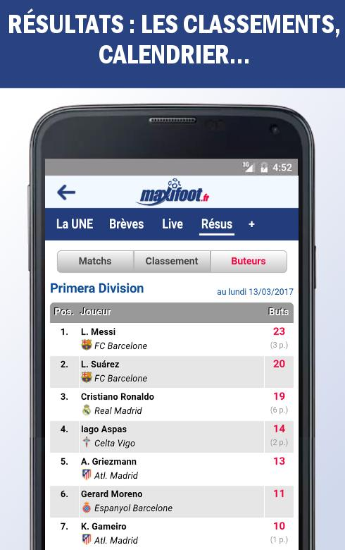 Mercato foot par Maxifoot- screenshot