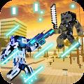 Block Gun 3D Battle Royale