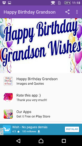 Download Happy Birthday Grandson On Pc Mac With Appkiwi Apk Downloader