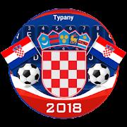2018 Croatia Football Keyboard