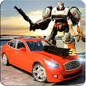 Car Robot Speed Transforming :  Modern Robot 3D icon