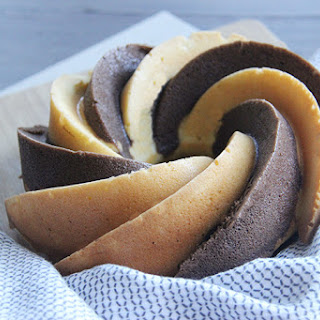 Hot Chocolate Habanero Bundt Cake #BundtBakers.