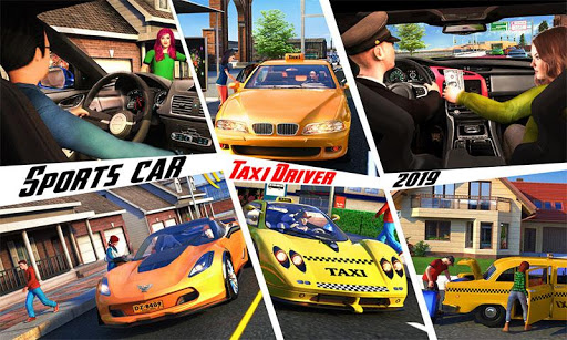 Yellow Cab American Taxi Driver 3D: New Taxi Games  screenshots 3