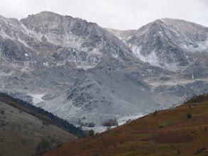 Photo: sous une fine pellicule de neige