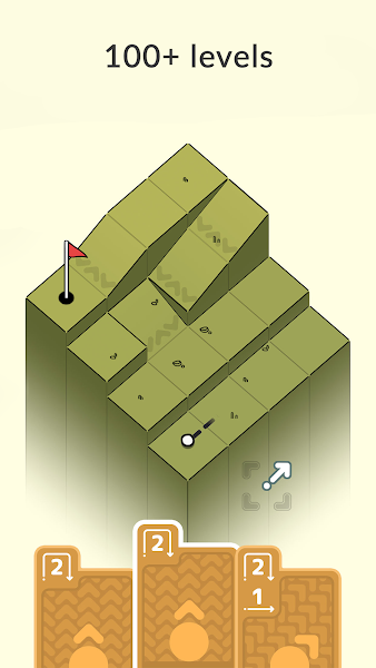 Golf Peaks Screenshot Image