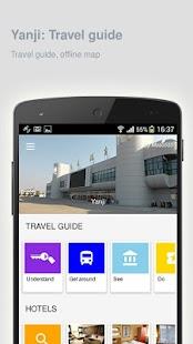 Yanji: Offline travel guide - náhled