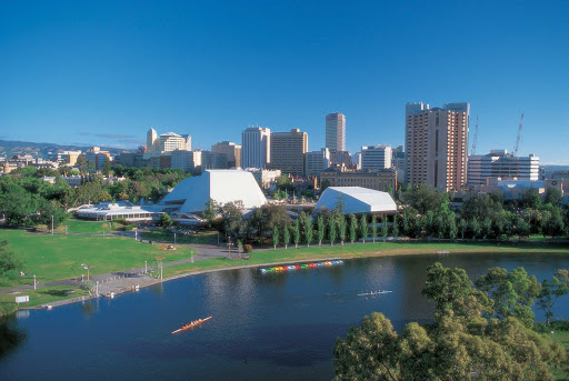 RCI-Aus-Adelaide-City1 - The Torrens River flows through Adelaide, South Australia.