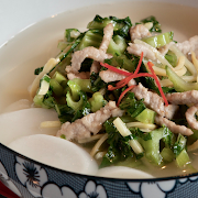 House Soup Rice Cake (Pork)