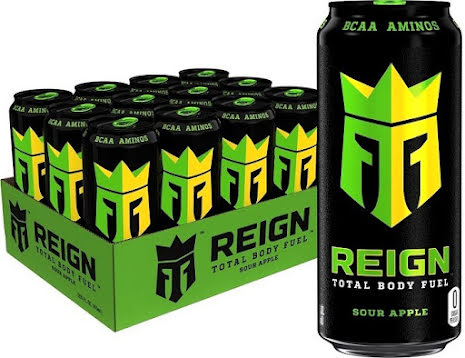 Reign Body Fuel 500ml Sour Apple - 12st