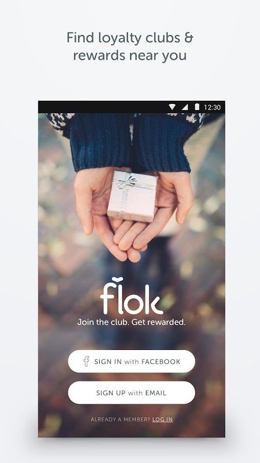 flok - Loyalty Cards App- screenshot