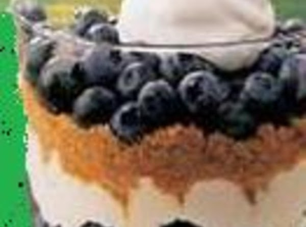 Blueberry Trifle, Low Fat Recipe