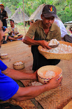 Photo: Makan Nasi, a genuine concept of hospitality of people in Flores, especially in Belaraghi. Eating rice is just a part of the openness, as prosperity, health, and friendliness are there to look forward to. http://www.indonesia.travel
