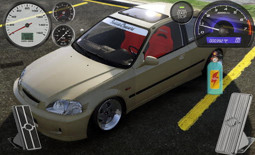 Driving The Civic Typer Vtec 1.0 screenshots 6
