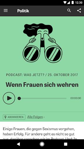 ZEIT ONLINE - Nachrichten 1.9.7 screenshots 2