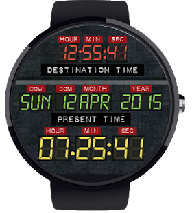 Time Machine Watch Face - náhled
