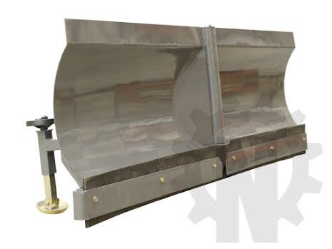 Hydrauliskt V-snöblad 1700mm   EVERUN