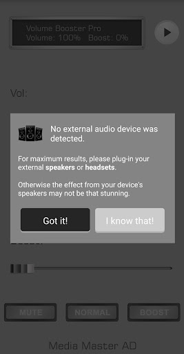 Volume Booster Pro 1.2 Screenshots 7