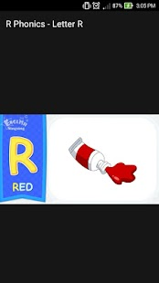 R Phonics Letter Alphabet Song Android Apps on Google Play