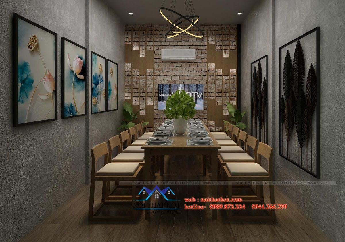 thiết kế nhà hàng hàng đầu hà nội
