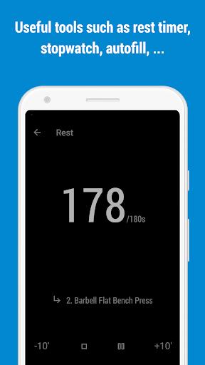 GymRun Workout Log & Fitness Tracker screenshots 6
