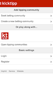 Kicktipp- screenshot thumbnail