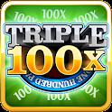 Triple 100x Slots HD icon