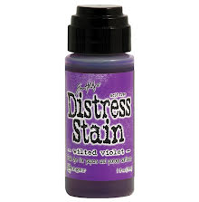 Tim Holtz Distress Stain 29 ml Bottle - Wilted Violet