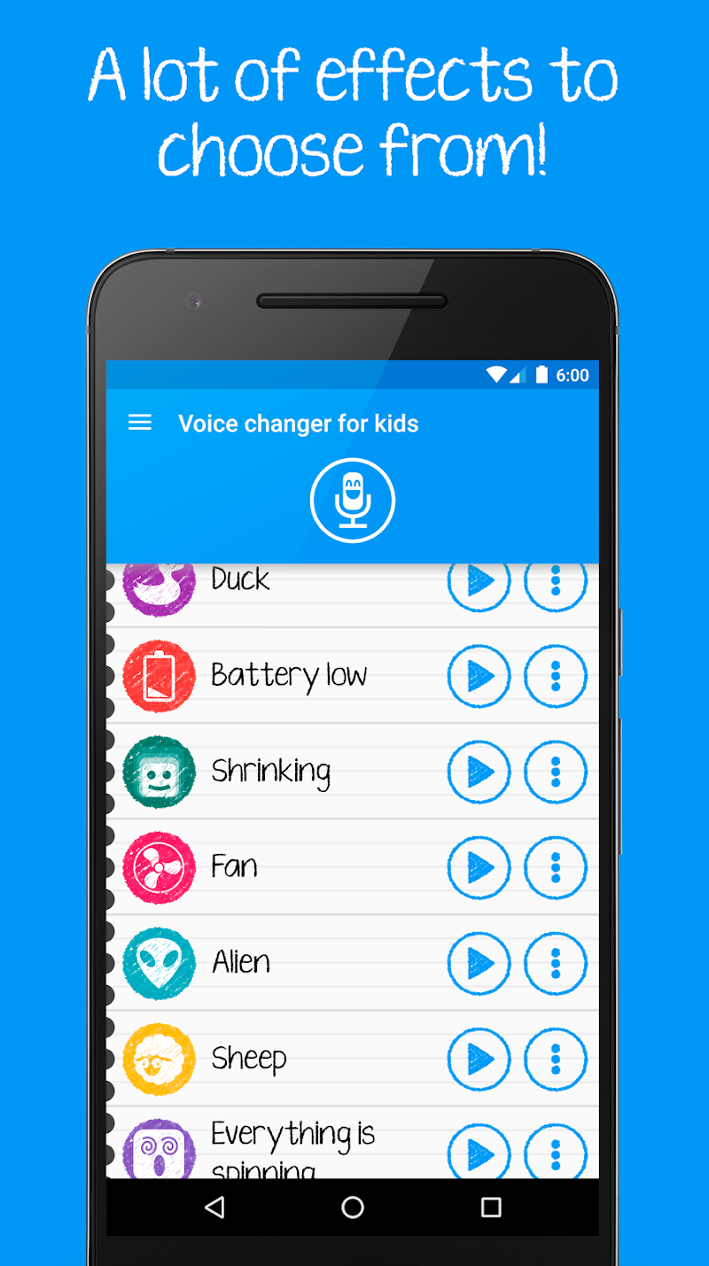 Voice changer for kids and families Screenshot 3