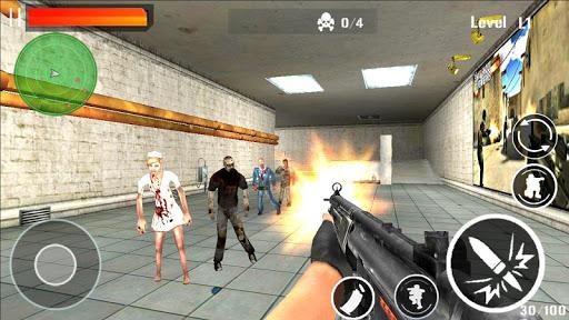 Gun Strike Blood Shoot