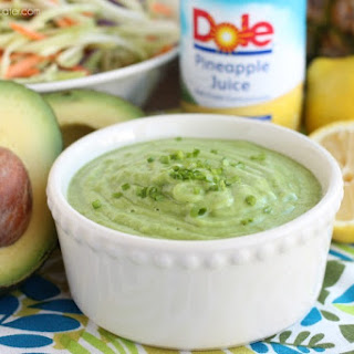 Pineapple Avocado Dressing