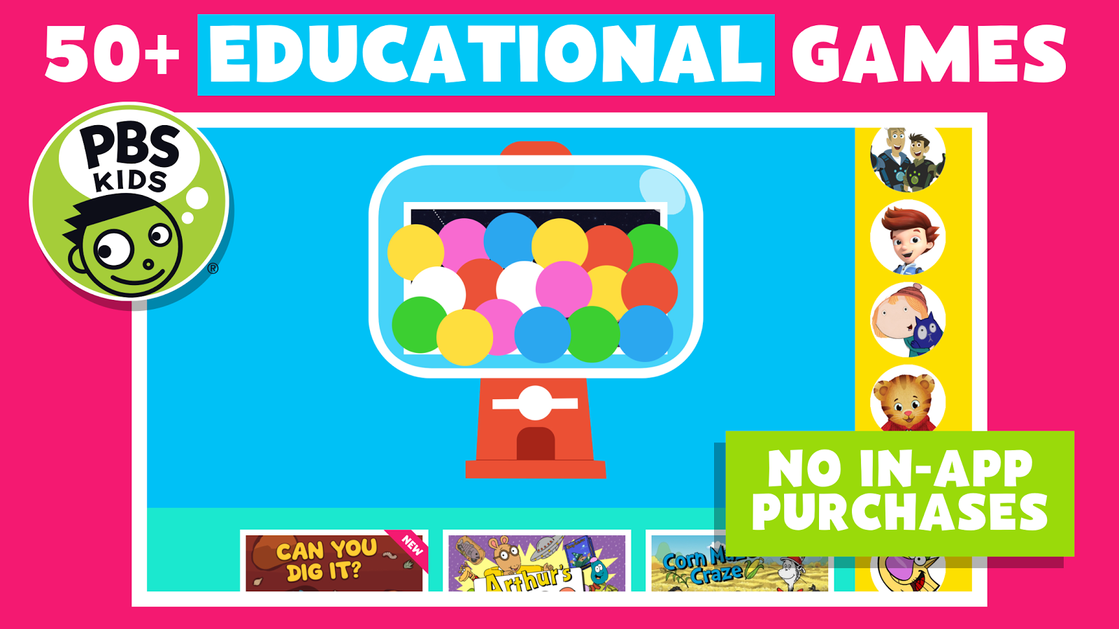 Pbs kids games android apps on google play for World of war craft com