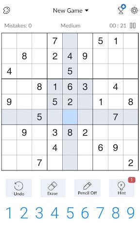 Sudoku - Free Classic Sudoku Puzzles screenshots 3