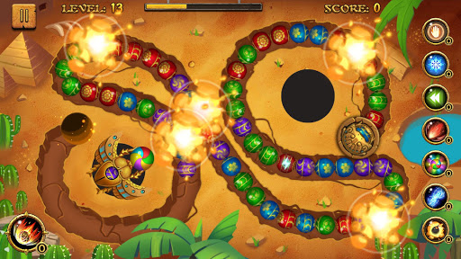 Jungle Marble Blast  screenshots 15